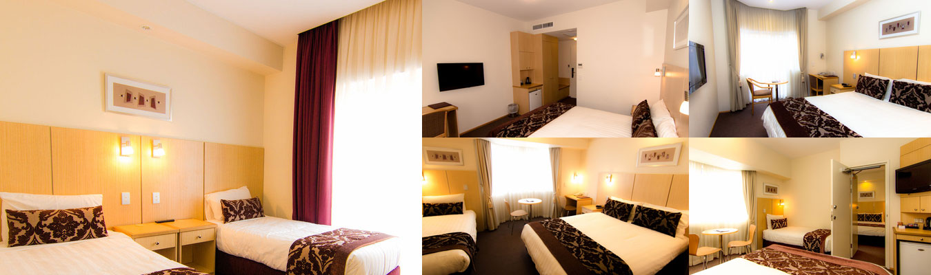type of rooms in motel