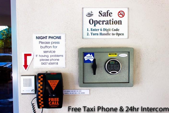 taxi phone and intercom